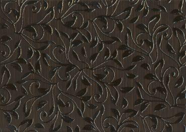 Декор Глория коричневый