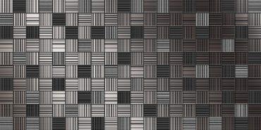 Декор День пиксель черный