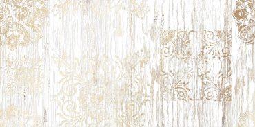Декор Папирус 2 белый