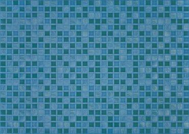 Квадро синий настенная
