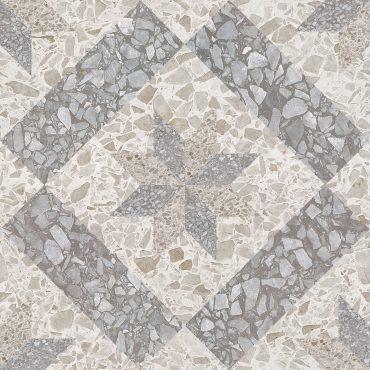 Декор Корсо G серый напольная