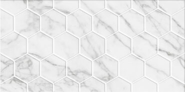 Marble Гексо белый стена