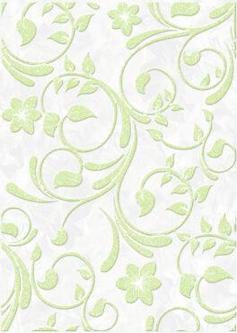 Декор Нарцисс салатовый
